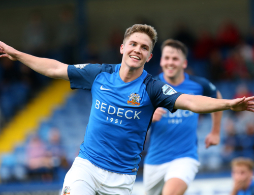 Josh leaves Lurgan Blues to join the Shrews