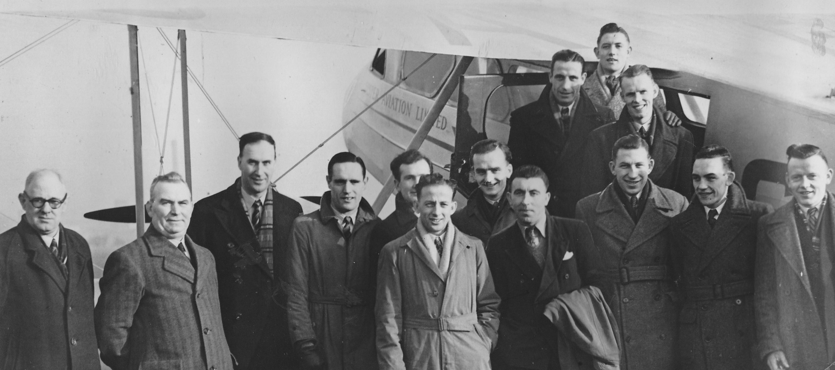 Glenavon's Historic Trip by Air to Aberdeen