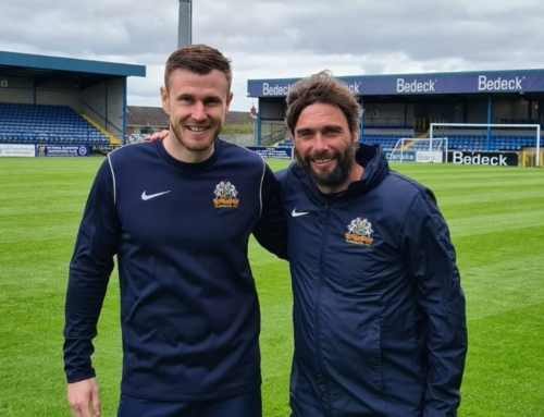 Glenavon sign NI international O'Connor