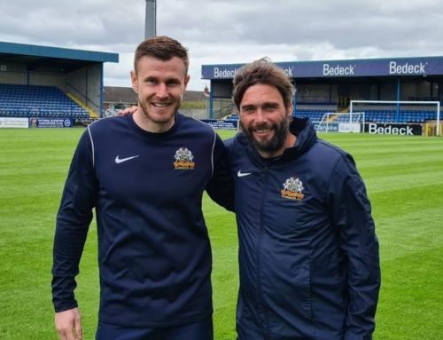 Glenavon sign NI international O'Connor