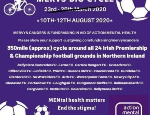 Charity cycle shining a light on mental health issues to visit Mourneview Park