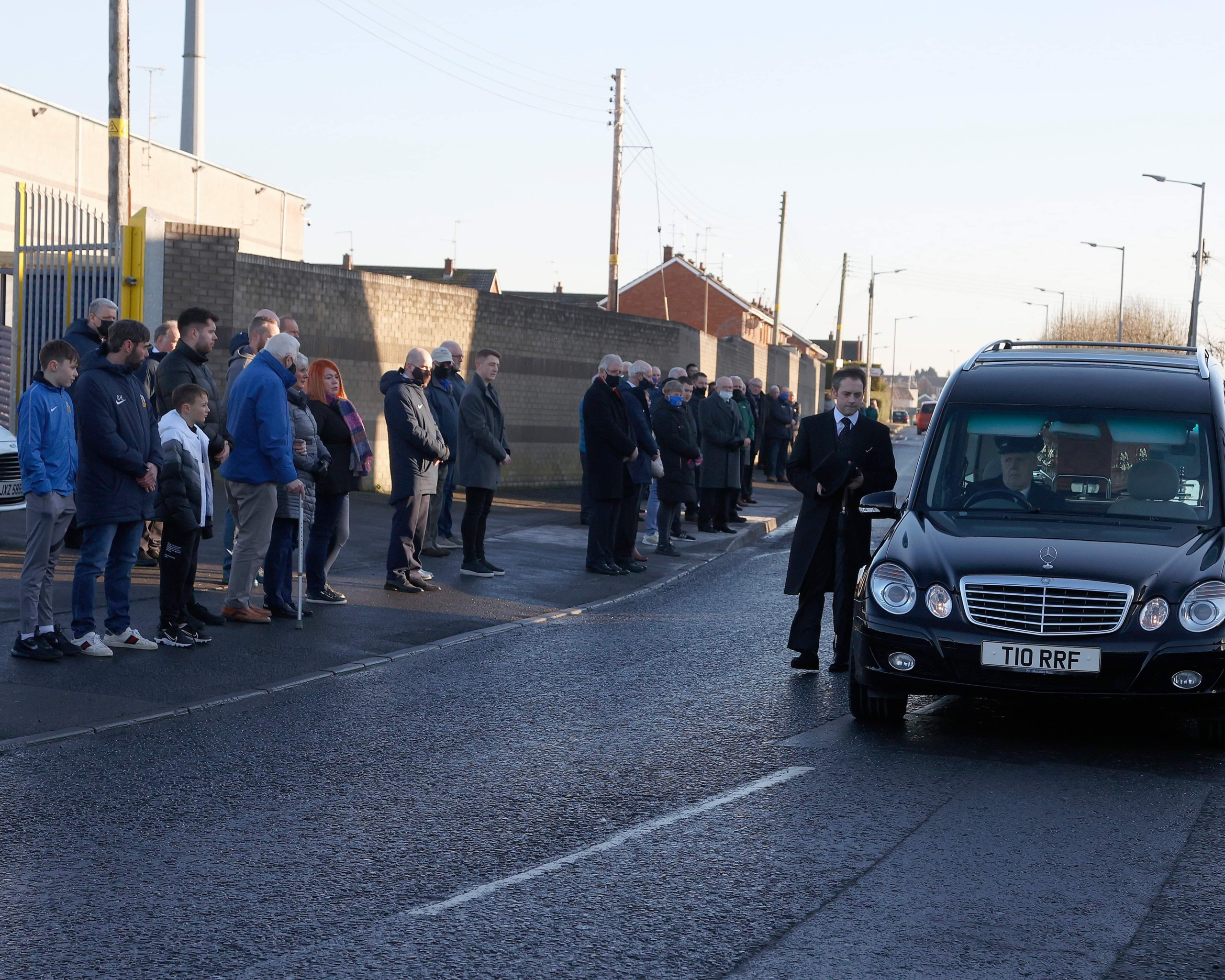 Sadness as Noel's funeral takes place