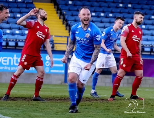 MATCH REPORT: Derby delight for four-midable Glenavon