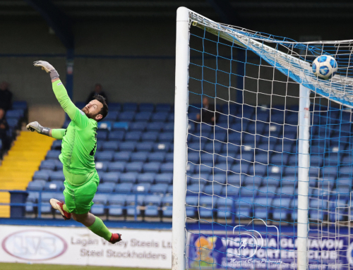 MATCH REPORT: Andy's handy double keeps Glenavon on track for play-off spot