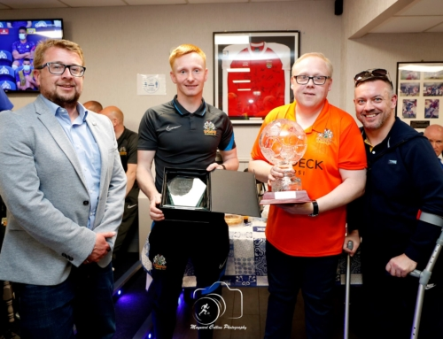 Ribs is named club's Player of the Season as presentations take place