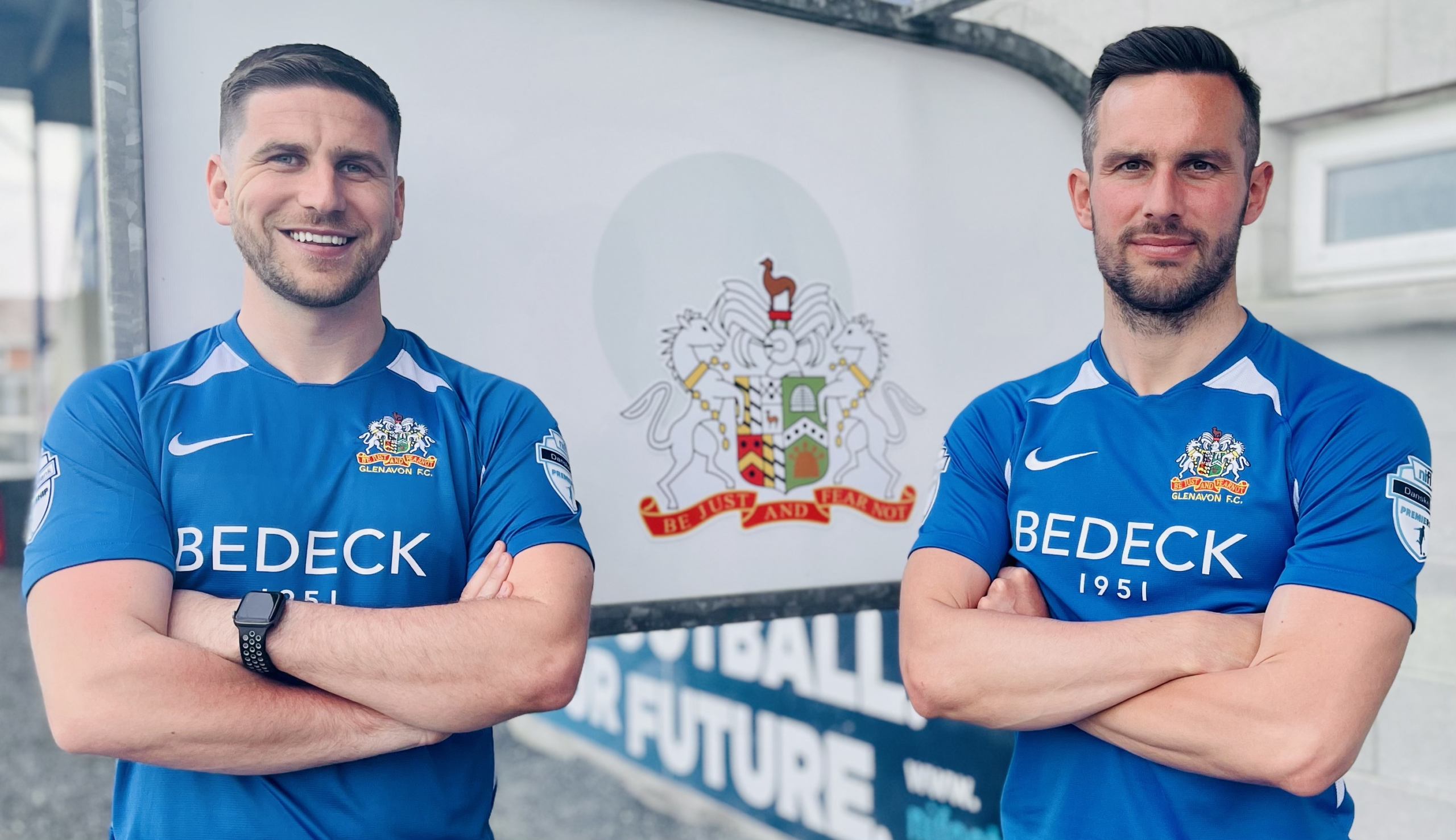 EXCLUSIVE: Haughey and Waterworth give first interviews to Glenavon Media