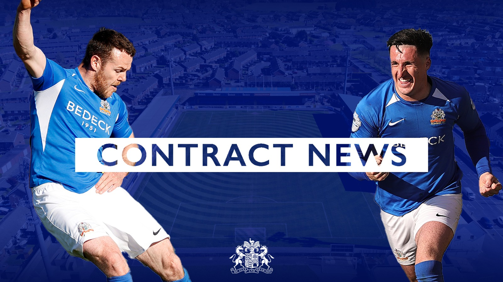 Purkis and Harmon sign contract extensions
