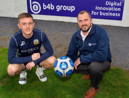 b4b Group signs with Glenavon FC as official telecoms and IT partner